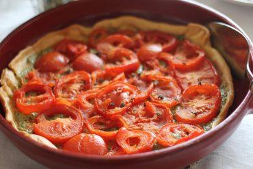 Jeanys Provencale tomato tarte