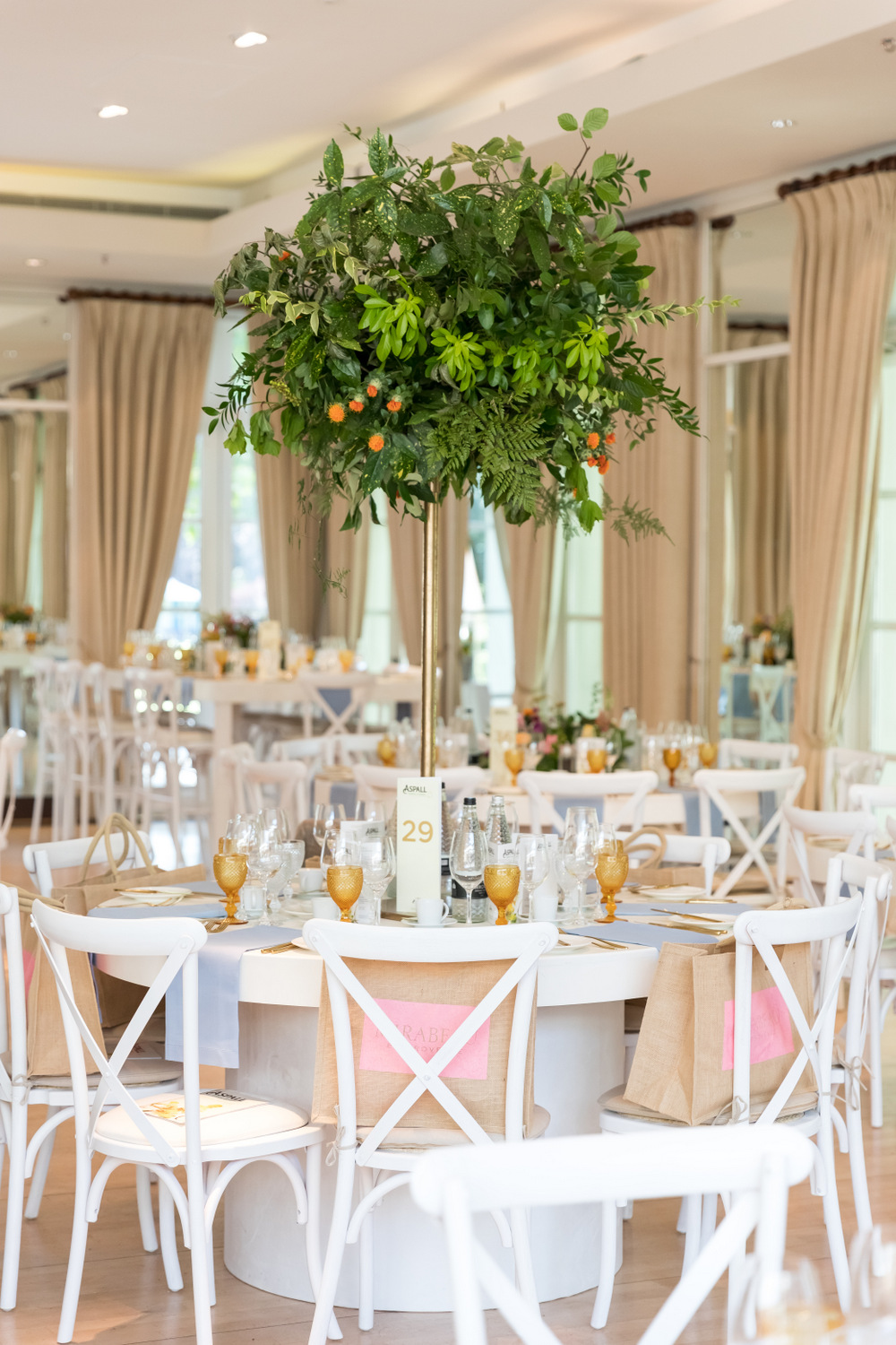Mirabeau sponsored lunch during the Aspall Tennis Classic at Hurlingham Club