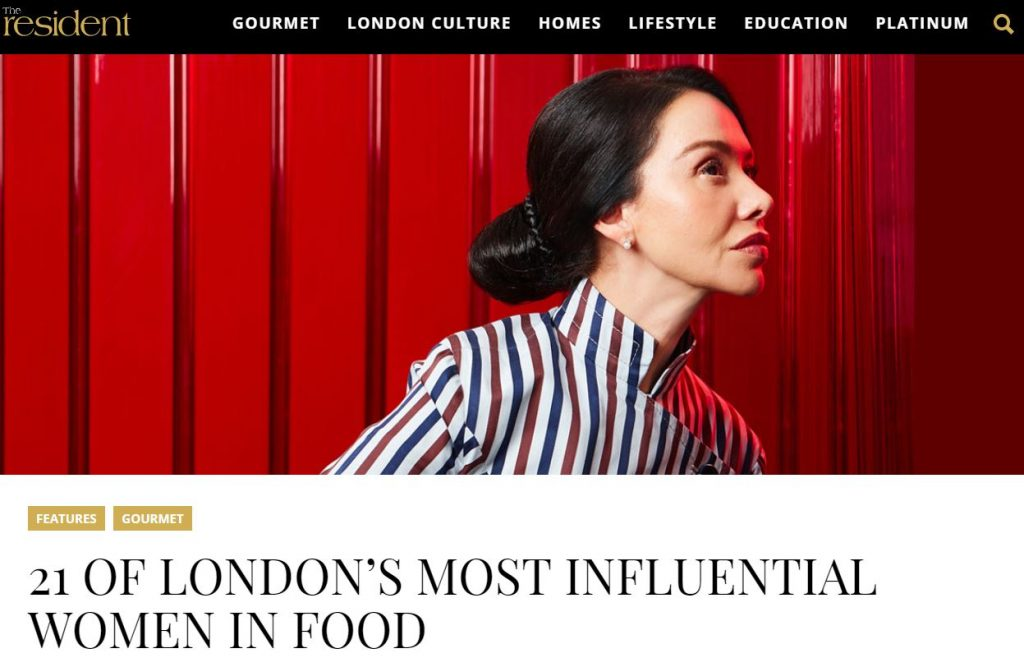 The Resident 21 Most Influential Women in London Food Scene