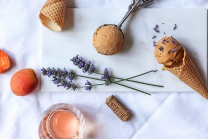 Apricot and Lavender ice cream recipe