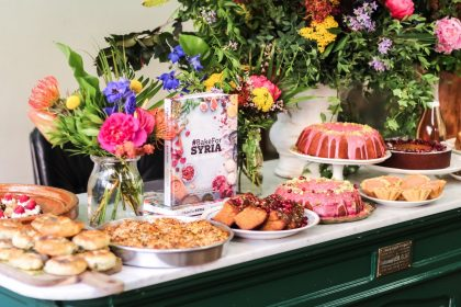 Bake For Syria Cookbook launch