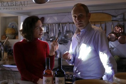 Kendall and Stephen discussing wine closures