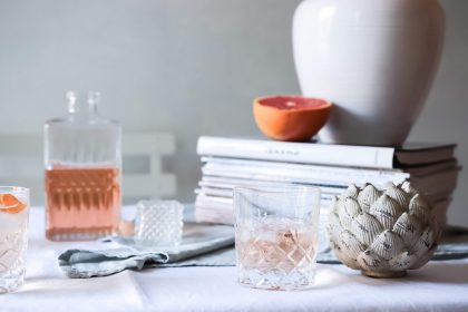 2 rosé cocktail recipes with Lizzie Loves Healthy
