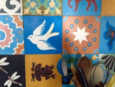 Mirabeau Cronk maison tiles
