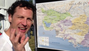 Nathan Nolan explains wines of Provence