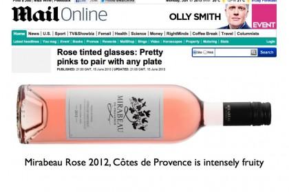 Olly Smith Mail on Sunday Mirabeau Provence rose.001