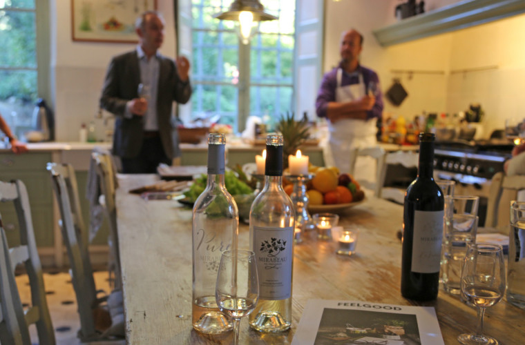 Cooking course and wine tasting with Trond Moi | Mirabeau