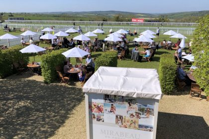 The Mirabeau Bar at Goodwood Races