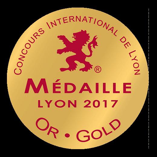 Lyon gold medal 2017