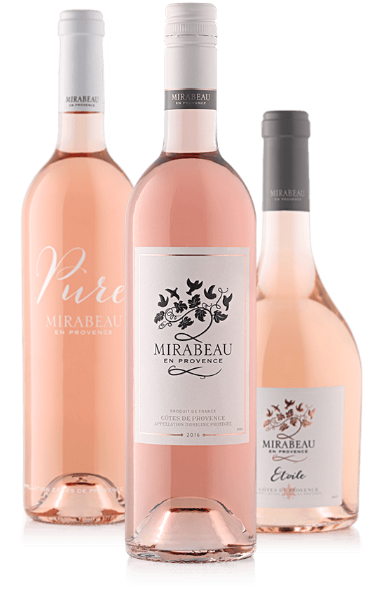 Mirabeau Rosé Wine Range